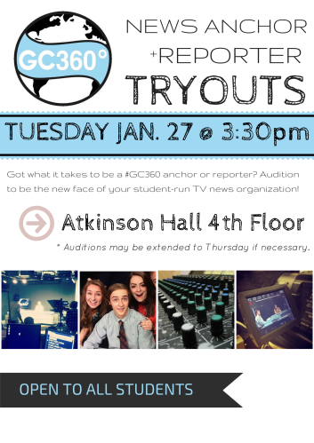 Tryouts Spring 2015